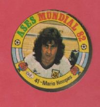 Argentina Mario Kempes River Plate